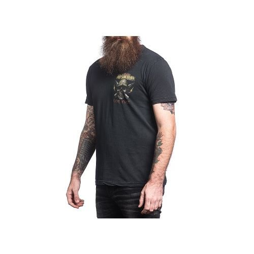 AFFLICTION IN THE JUNGLE T-SHIRT
