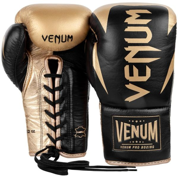 VENUM HAMMER PRO BOXING GLOVES - WITH LACES