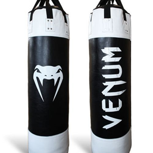 VENUM PRO LEATHER PUNCHING BAG - UNFILLED - 130CM