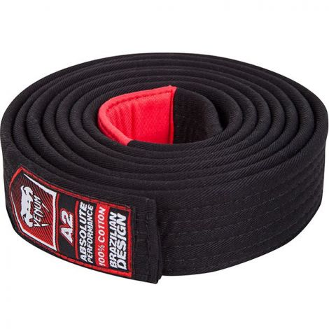 VENUM BJJ BELT-Black-A4