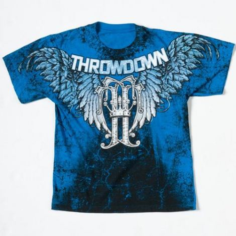 THROWDOWN KIDS/TODDLER MONOGRAM T-SHIRT