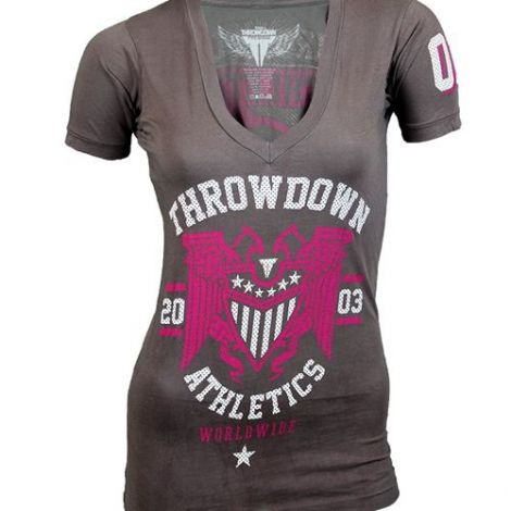 THROWDOWN LADIES WORLDWIDE T-SHIRT