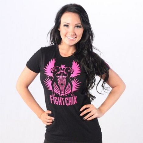 FIGHT CHIX TRIBAL WING T-SHIRTS