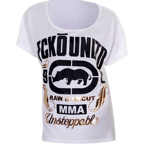 ECKO MMA LADIES RAW & UNCUT T-SHIRT