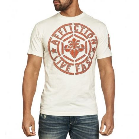 AFFLICTION BUILDUP T-SHIRT