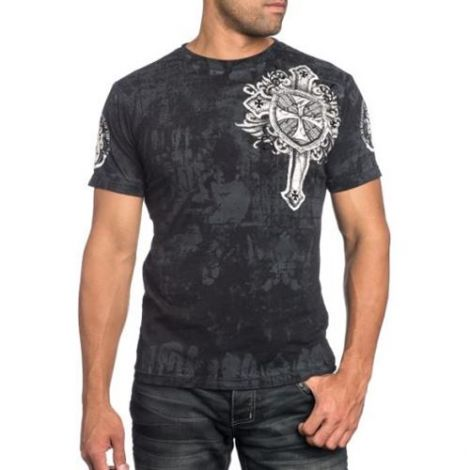 XTREME COUTURE RAGGED FAITH T-SHIRT