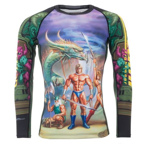 Sega Golden Axe Rashguard - Long Sleeve