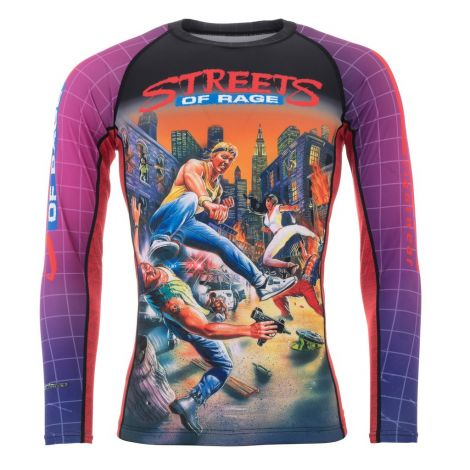 Sega Streets Of Rage Rashguard - Long Sleeve
