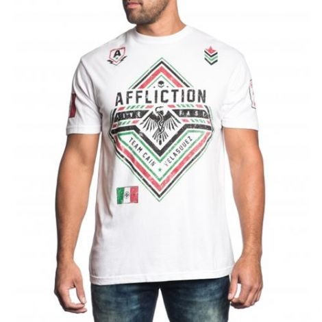 AFFLICTION VELASQUEZ FORCE T-SHIRT