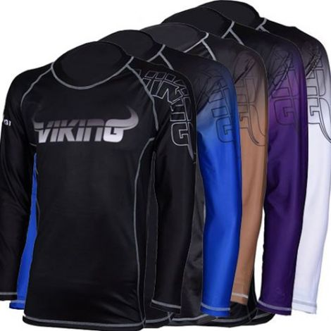 VIKING RANKED VENTED RASHGUARD - LONG SLEEVE