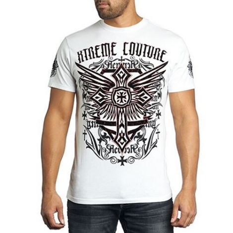 XTREME COUTURE FAITHFUL ONE T-SHIRT-XXL