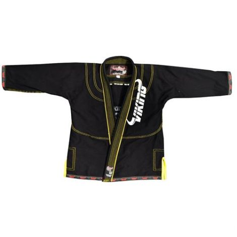 VIKING KIDS BJJ GI-Black-1