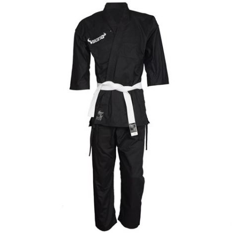 VIKING KARATE UNIFORM - KIDS-Black-000