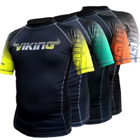 VIKING RANKED RASHGUARD - KIDS - SHORT SLEEVE