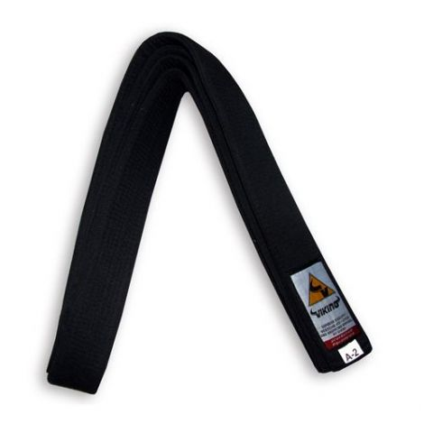 VIKING BJJ BELT-Black-A4