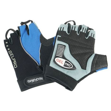 SHINOBI PRO GEL WEIGHT LIFTING GLOVES-M