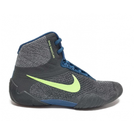 Nike Tawa Wrestling Shoes - Gray