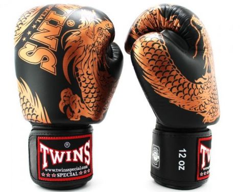 TWINS FANCY BOXING GLOVES - DRAGON - FBGVL3-49