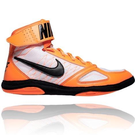 NIKE TAKEDOWN WRESTLING SHOES - ORANGE/BLACK