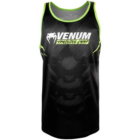 VENUM TRAINING CAMP 2.0 TANK TOP - BLACK/NEO YELLOW