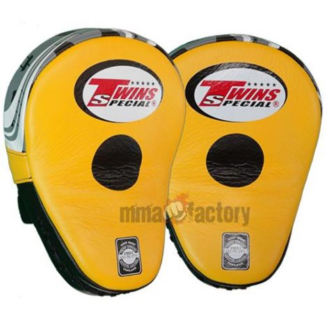 TWINS CURVED FOCUS MITTS - PML-10