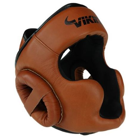 VIKING NORSE KING HEAD GEAR - NAPPA LEATHER