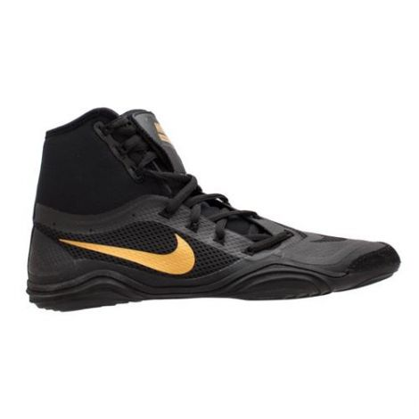 NIKE HYPERSWEEP WRESTLING SHOES - BLACK/GOLD