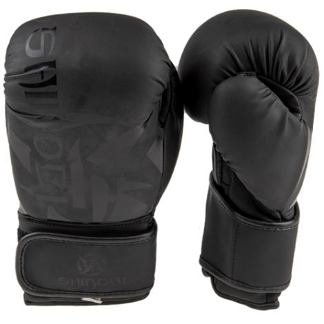 SHINOBI SEKIRO BOXING GLOVES-Black/Black-12oz