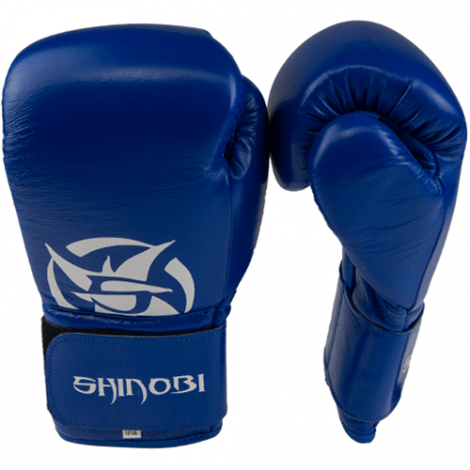 SHINOBI ZERO BOXING GLOVES-Blue-16oz