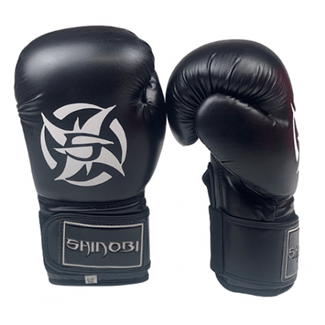 SHINOBI RAVEN BOXING GLOVES-16oz