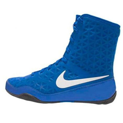 NIKE KO BOXING SHOES - GAME ROYAL/WHITE