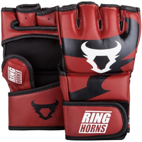 RINGHORNS CHARGER MMA GLOVES-Red-M