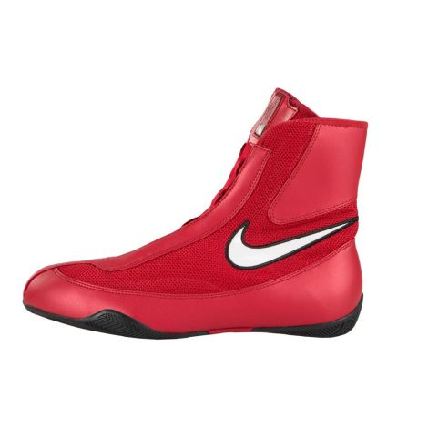 NIKE MACHOMAI MID BOXING SHOES - RED/WHITE