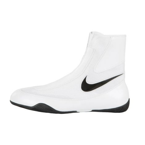 NIKE MACHOMAI MID BOXING SHOES - WHITE/BLACK