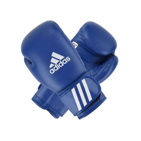 ADIDAS AIBA APPROVED BOXING GLOVES-Blue-10oz