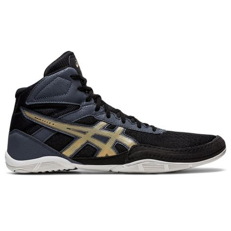 Asics Matflex 6 Wrestling Shoes - Black/Champagne