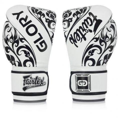 FAIRTEX BGVG2 GLORY HOOK AND LOOP TRIBAL BOXING GLOVES