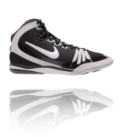 NIKE FREEK WRESTLING SHOES - BLACK/WHITE
