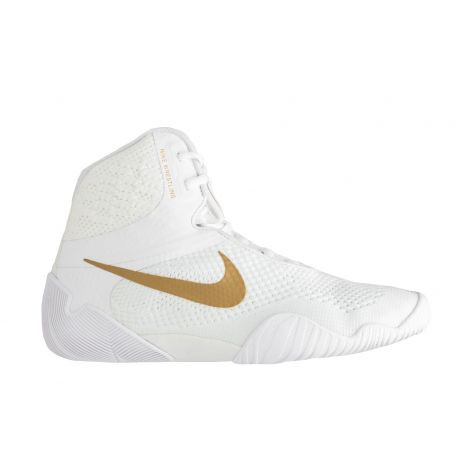 Nike Tawa Wrestling Shoes - White/Gold