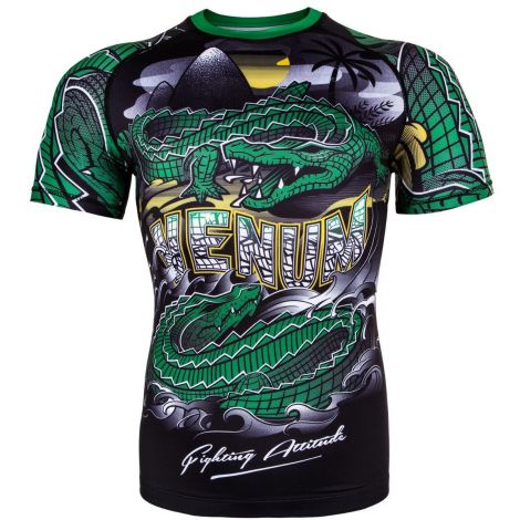 VENUM CROCODILE RASHGUARD - SHORT SLEEVES