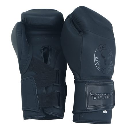 Viking Eagle Matte Leather Bag Gloves