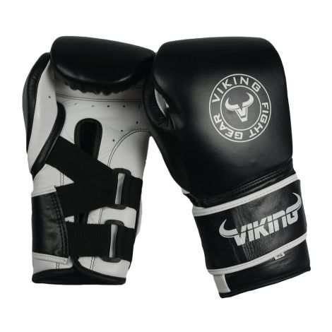 Viking Eagle Leather Boxing Gloves