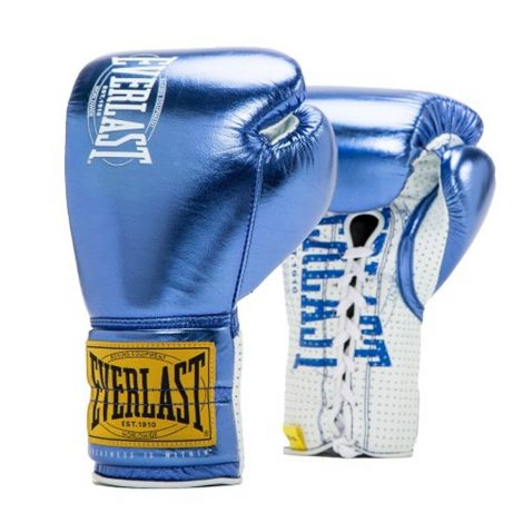 EVERLAST 1910 CLASSIC FIGHT GLOVES - LACE UP