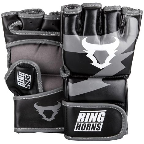 RINGHORNS CHARGER MMA GLOVES-Black-M