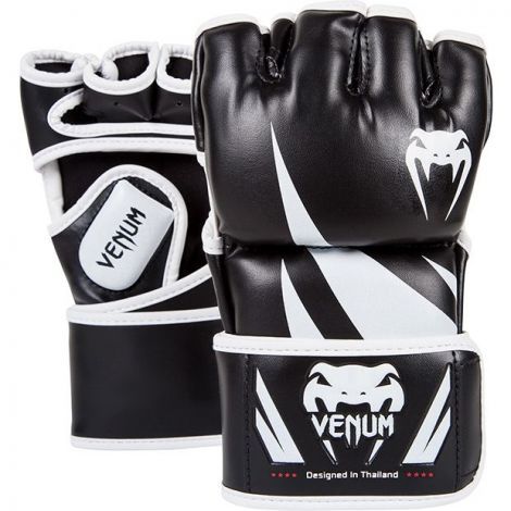 VENUM CHALLENGER MMA GLOVES-Black/White-L/XL