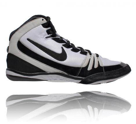 NIKE FREEK WRESTLING SHOES - WHITE/BLACK