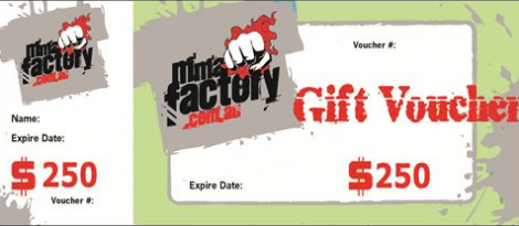 MMA Factory $250 Gift Card
