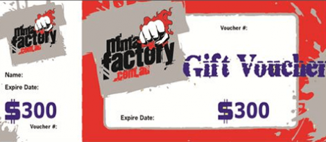 MMA Factory $300 Gift Card
