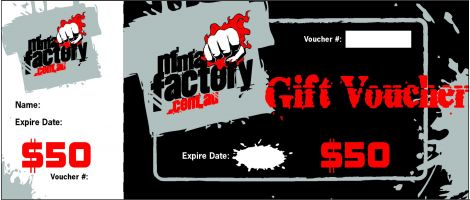 MMA Factory $50 Gift Card