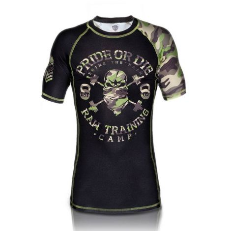 PRIDE OR DIE RAW TRAINING CAMP RASHGUARD